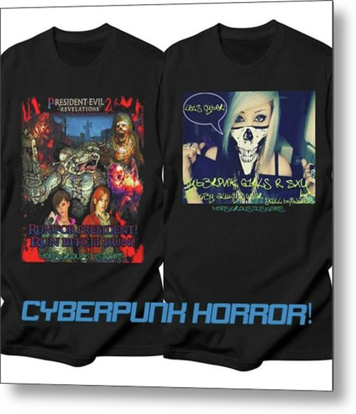 Got A Couple New Shirts In My Store Metal Print