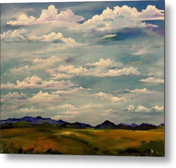 Got Clouds Metal Print