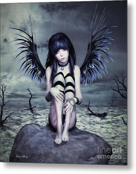 Goth Fairy Metal Print