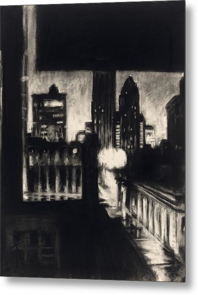 Gotham II Metal Print