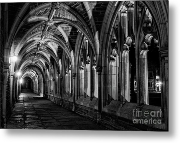 Gothic Arches Metal Print