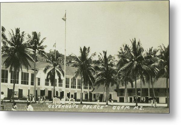 Governors Palace Guam Metal Print