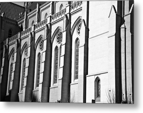 Grace Cathedral Metal Print by Larry Butterworth