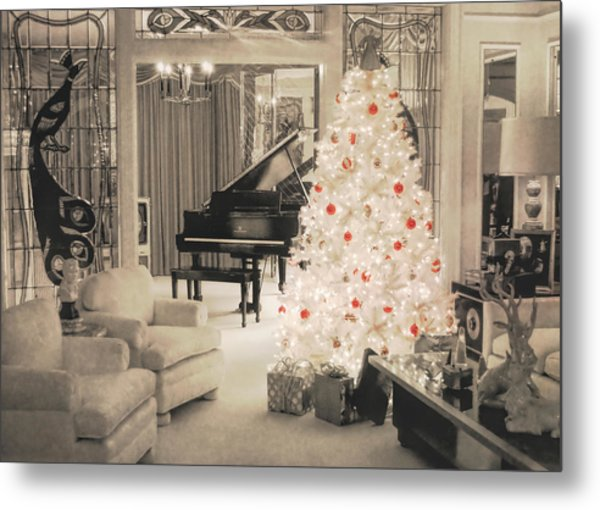 Graceland Holiday Metal Print by JAMART Photography