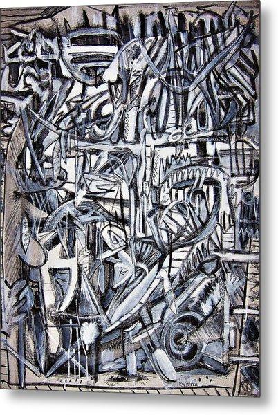 Grad Metal Print by Dave Kwinter