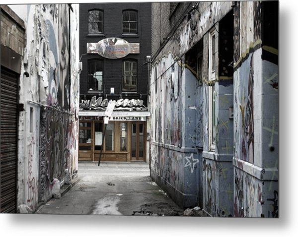 Graff Street Metal Print by Jez C Self