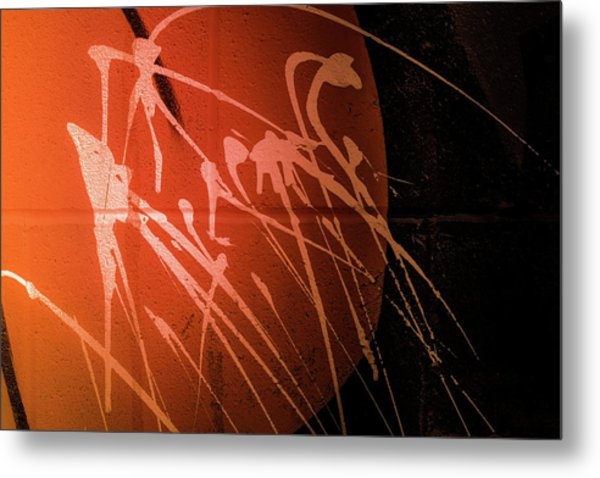 Graffiti 1 Metal Print