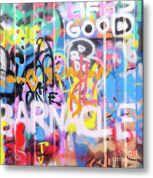 Graffiti 3 Metal Print