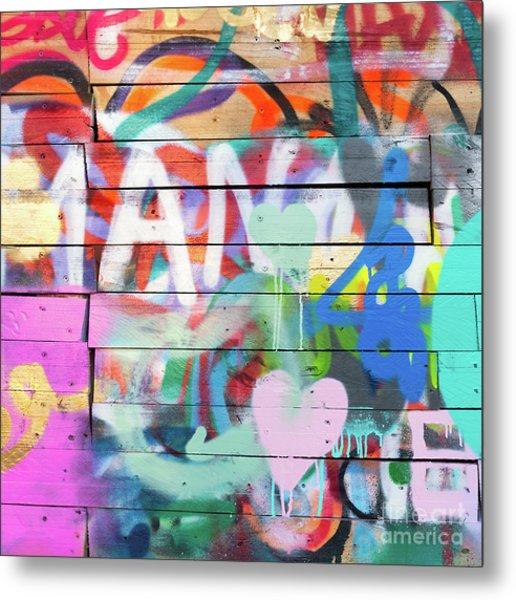 Graffiti 4 Metal Print