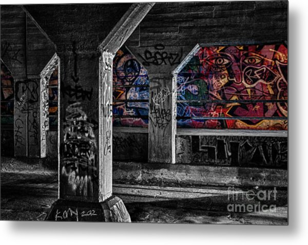 Graffiti Galore 2 Metal Print
