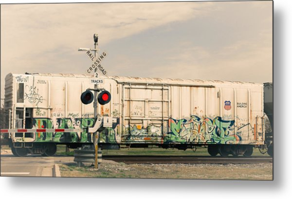 Graffiti Ride Metal Print