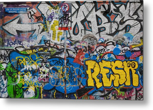 Grafitti On The U2 Wall, Windmill Lane Metal Print