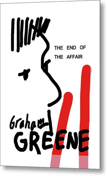 Graham Greene End Of Affair  Metal Print