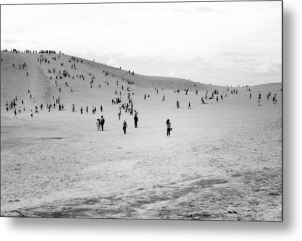 Grains Of Sand Metal Print