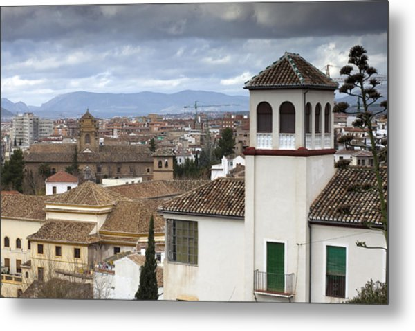 Granada Metal Print by Andre Goncalves