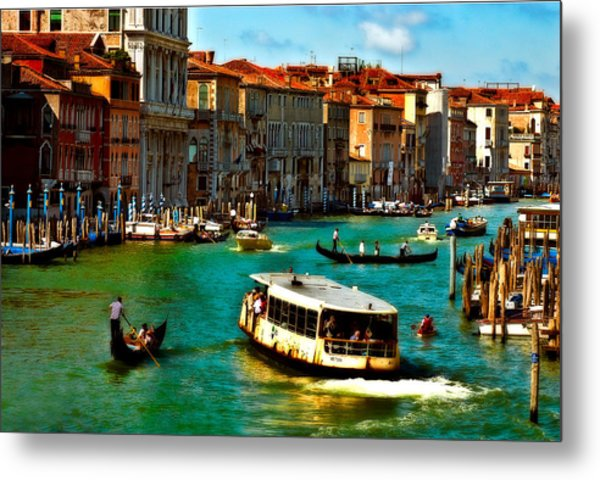 Grand Canal Daytime Metal Print