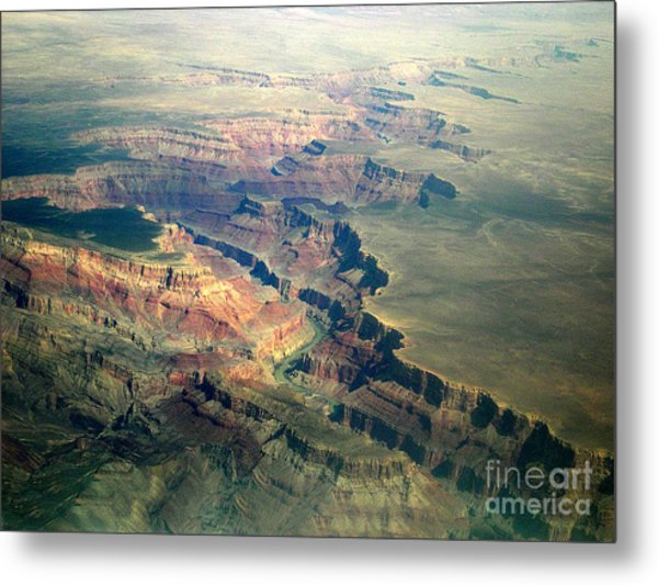 Grand Canyon 2 Metal Print by Addie Hocynec