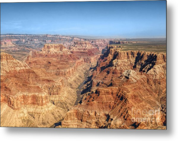 Grand Canyon Aerial View Metal Print