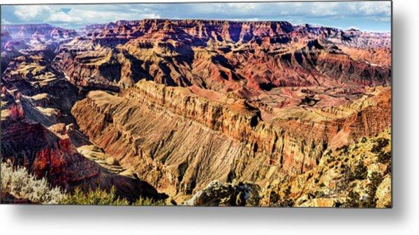 Grand Canyon Afternoon At Lipan Point Metal Print