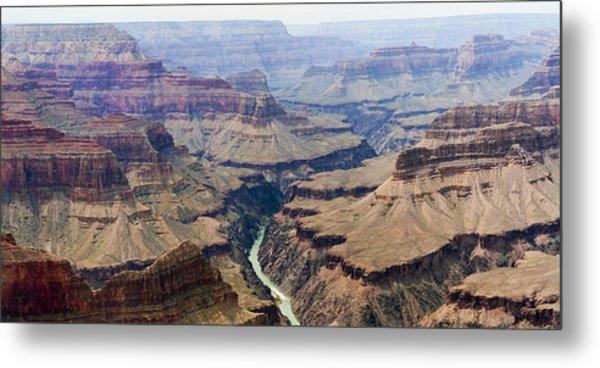 Grand Canyon And Colorado River 3 Of 5 Metal Print