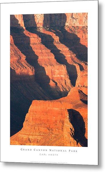Grand Canyon Glow Metal Print