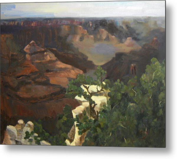 Grand Canyon Metal Print by Marcy Silverstein
