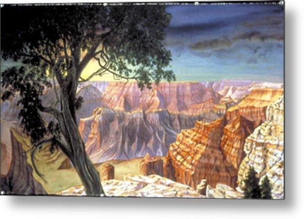 Grand Canyon Metal Print by Nancy  Ethiel