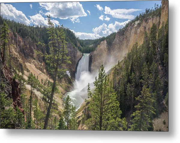 Grand Canyon Of Yellowstone Metal Print