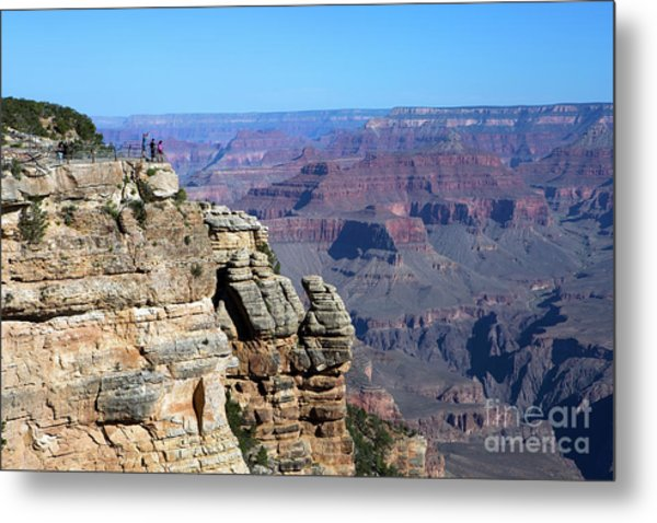 Metal Print featuring the photograph Grand Canyon South Rim by Steven Frame