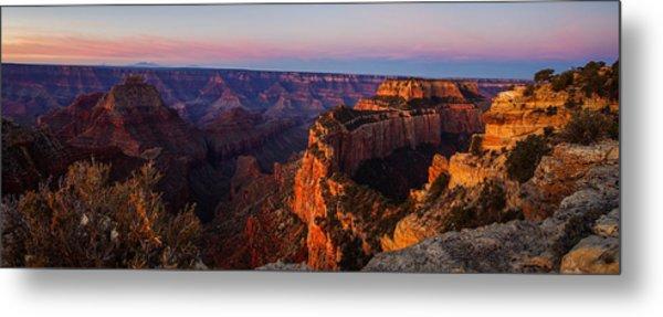 Grand Canyon Sunrise Panoramic Metal Print