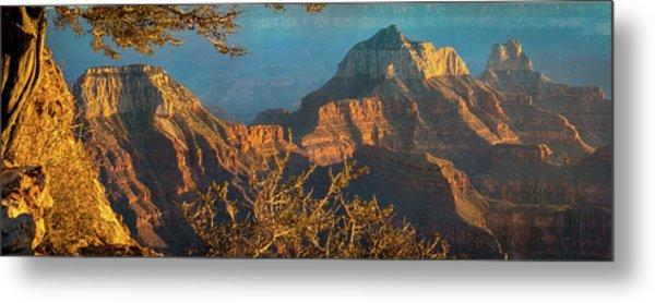Grand Canyon Sunset Panorama Metal Print