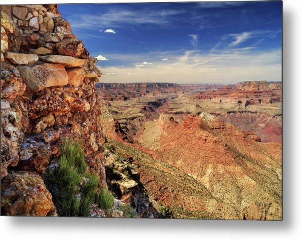 Grand Canyon Wall Metal Print