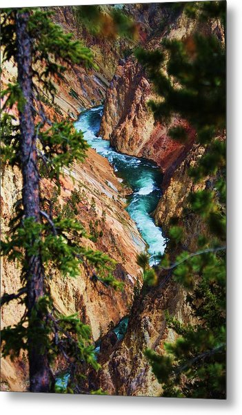 Grand Canyon  Yellowstone Metal Print by Russell  Barton