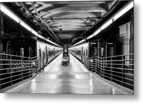 Metal Print featuring the photograph Grand Central by Rand
