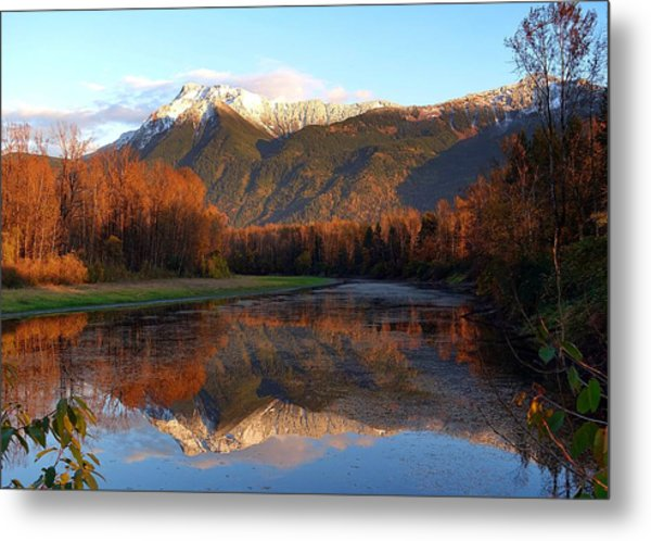 Mount Cheam, British Columbia Metal Print