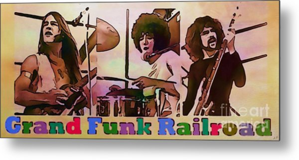 Grand Funk Railroad Collection - 1 Metal Print