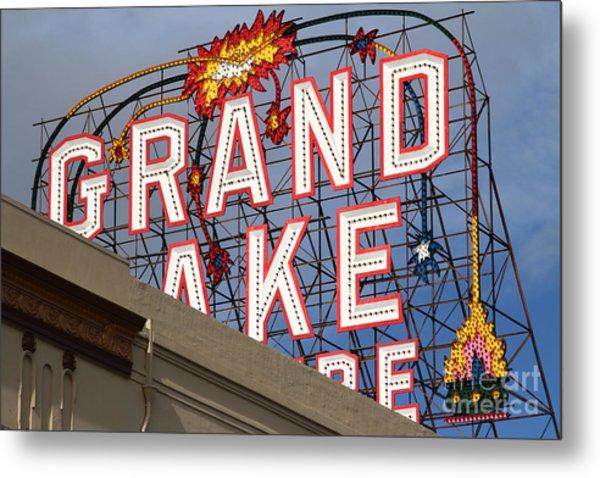 Grand Lake Theatre . Oakland California . 7d13495 Metal Print