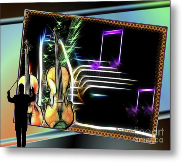 Grand Musicology Metal Print