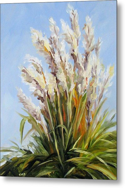 Grand Pampas Metal Print by Cheryl Pass