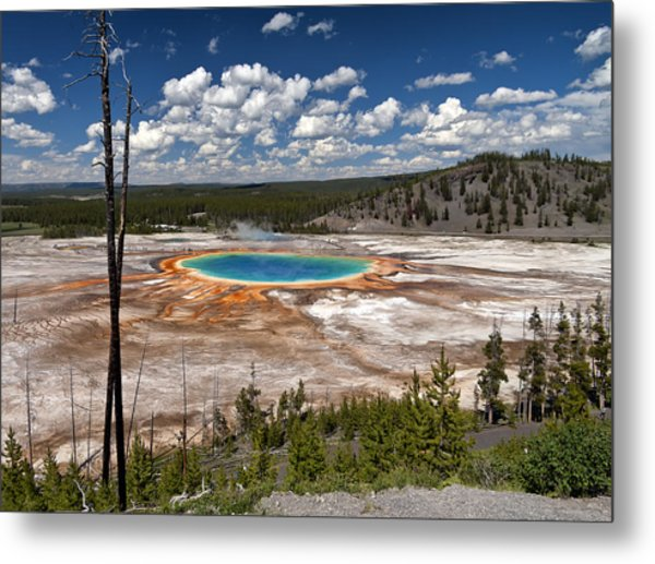 Metal Print featuring the photograph Grand Prismatic by John Gilbert