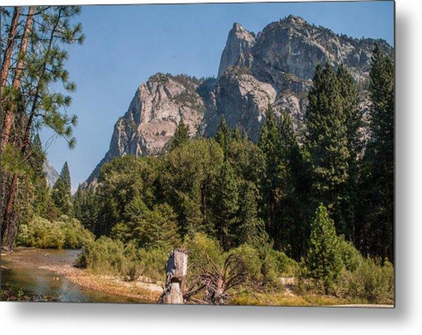 Grand Sentinel Zumalt Meadow Kings Canyon National Park Metal Print