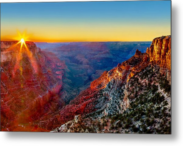 Grand Sunset Metal Print