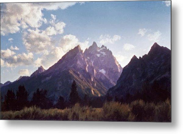 Grand Teton Metal Print