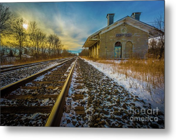 Grand Trunk Station  Metal Print