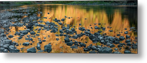 Grande Ronde Gold Metal Print by Leland D Howard