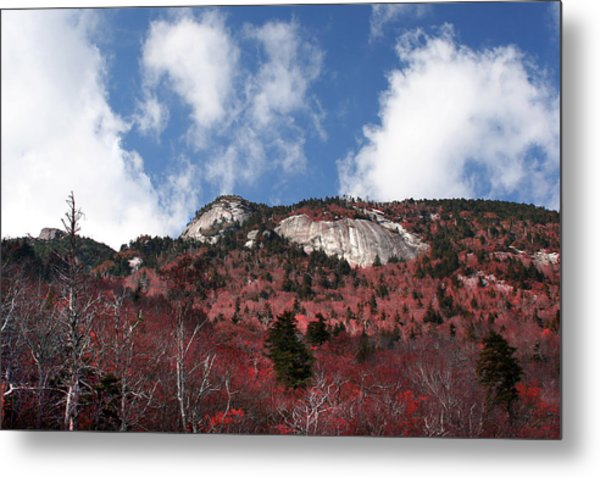 Grandfather Mountain East Side Metal Print
