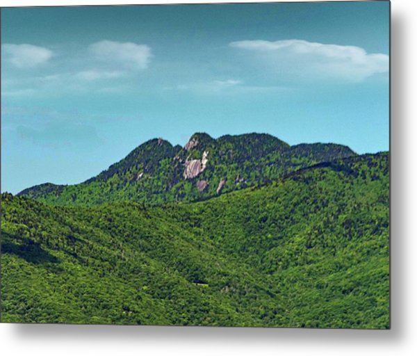 Grandfather Mountain, Nc Metal Print by Patricia Brock