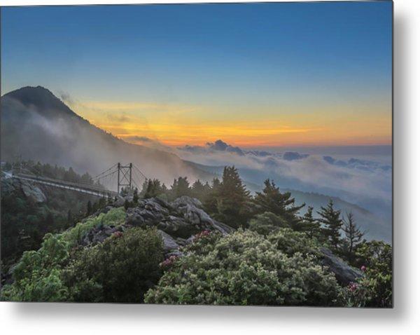 Grandfather Mountain Sunrise Metal Print