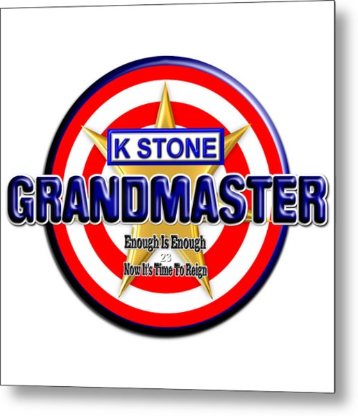 Grandmaster Version 2 Metal Print