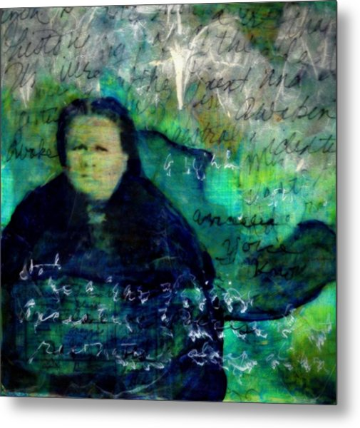 Grandmother Maggie-study Metal Print